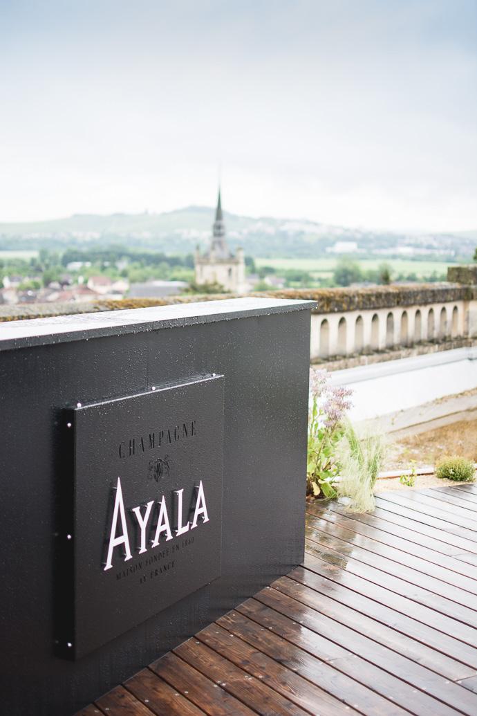 Rooftop de la Maison Ayala à Aÿ