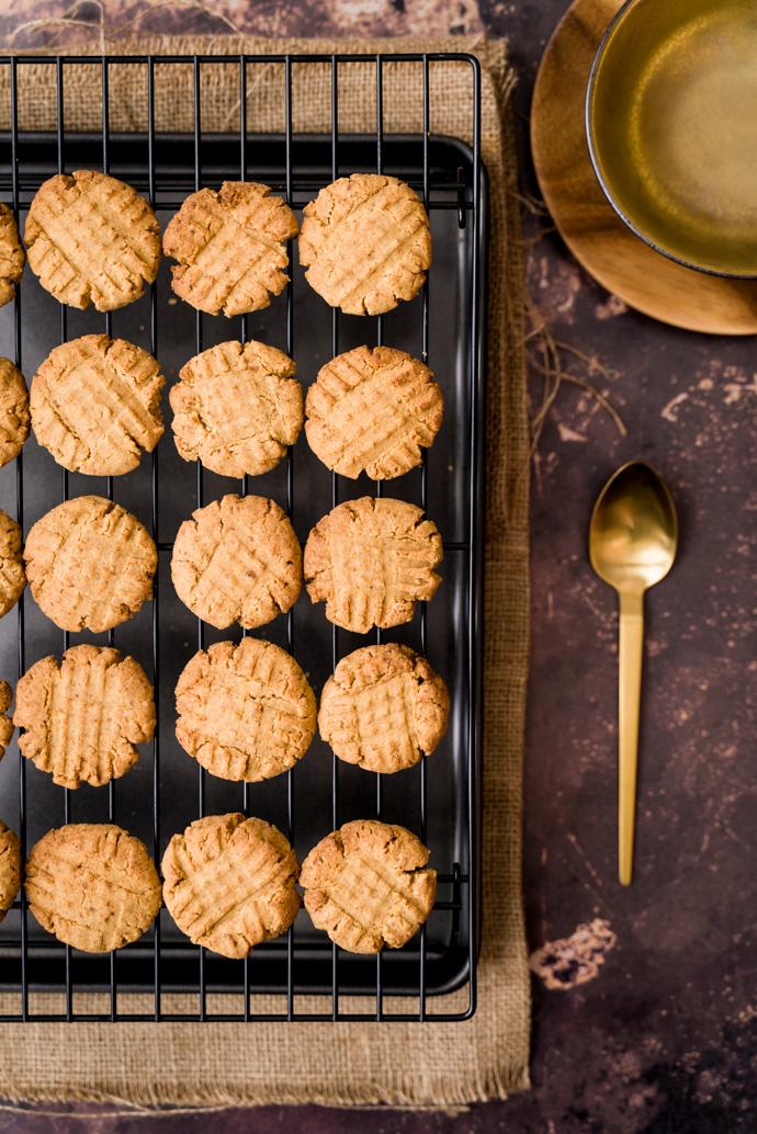 Recette des biscuits au beurre de cacahuètes - IG bas