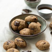 Recette de cookies au chocolat et noisette - sans beurre