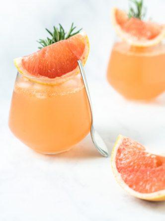 Recette facile de Gin & Tonic au pamplemousse