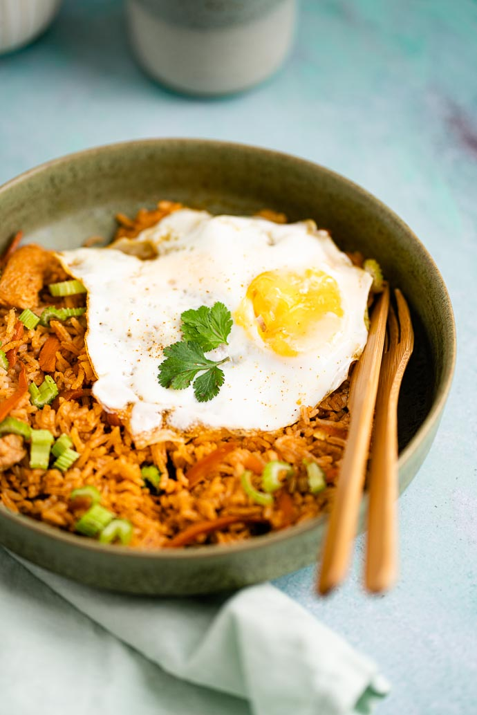 Recette facile du Nasi Goreng - bienvenue à Bali