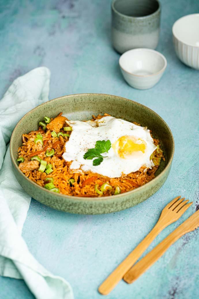 Recette facile du Nasi Goreng - comme à Bali