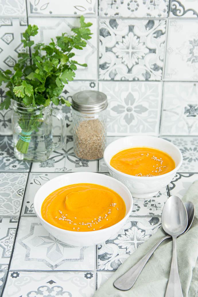 Recette facile de soupe de légumes et épices