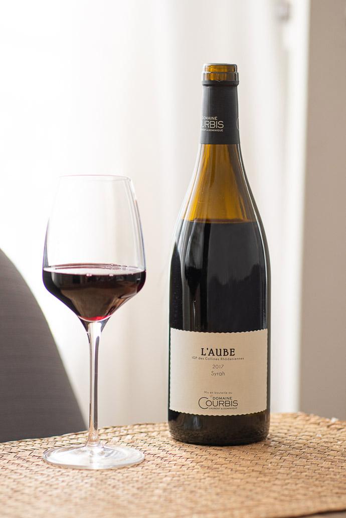 Vin du Domaine Courbis - l'Aube 2017