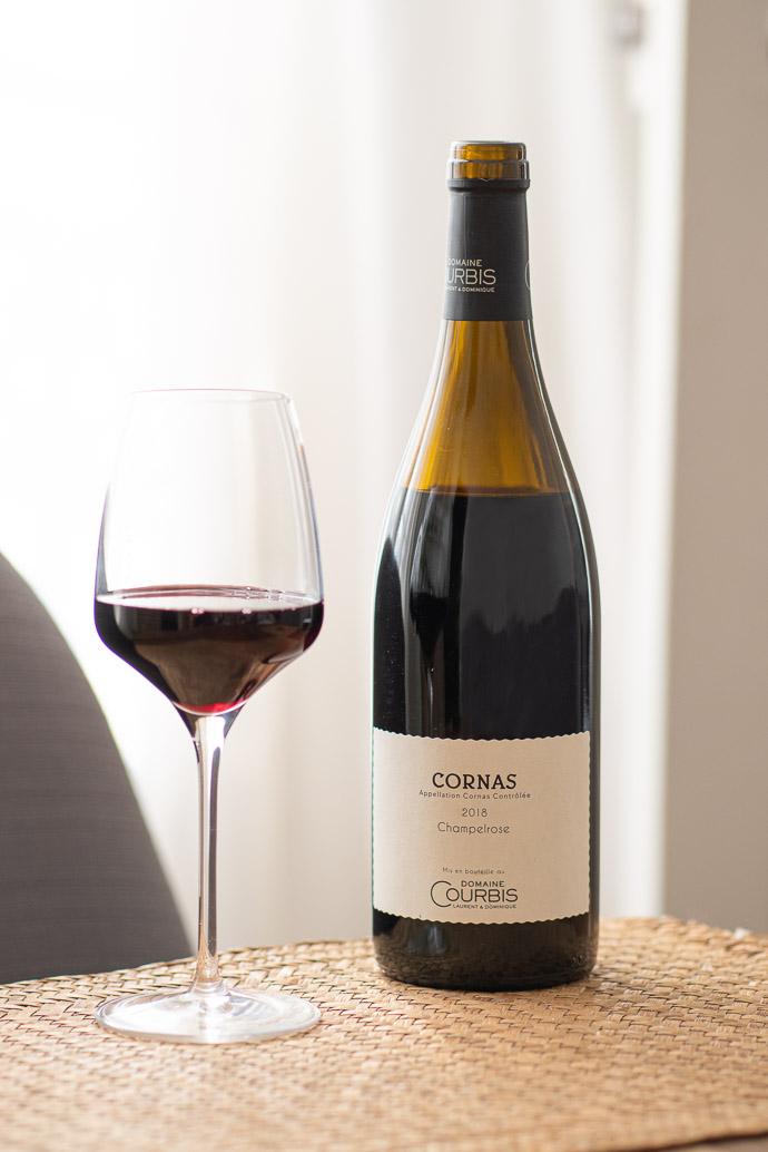 Vin du Domaine Courbis - Champelrose Cornas 2018