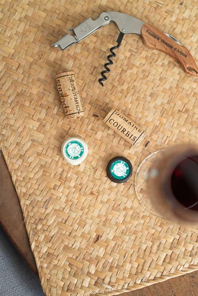 Bouchons de vins Courbis