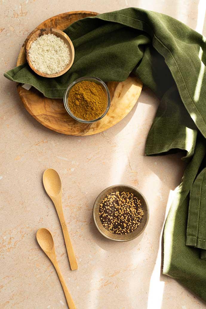 Curry de pois chiches, crème de coco et épinards - recette indienne