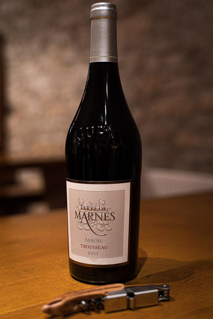 Week-end dans le Jura - découverte du Château Bethanie, vin Trousseau, Terre de Marnes 2017