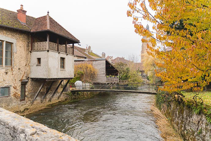 Week-end dans le Jura - Village d'Arbois