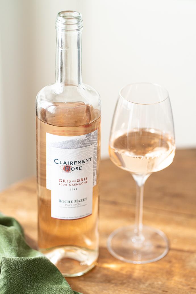 Pour accompagner votre salade estivale ou votre plateau de fruits de mer, optez pour le Clairement Rosé de Roche Mazet