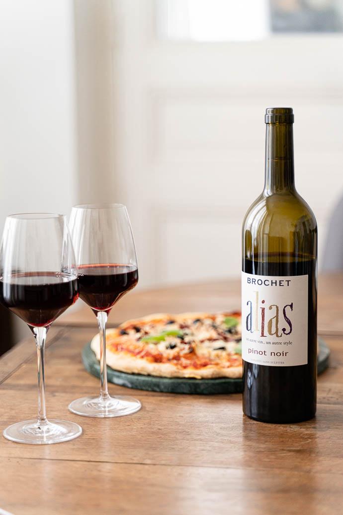 Découvrez le vin de Loire Amplidae, sans soufres sans sulfites, 1000% Pinot Noir