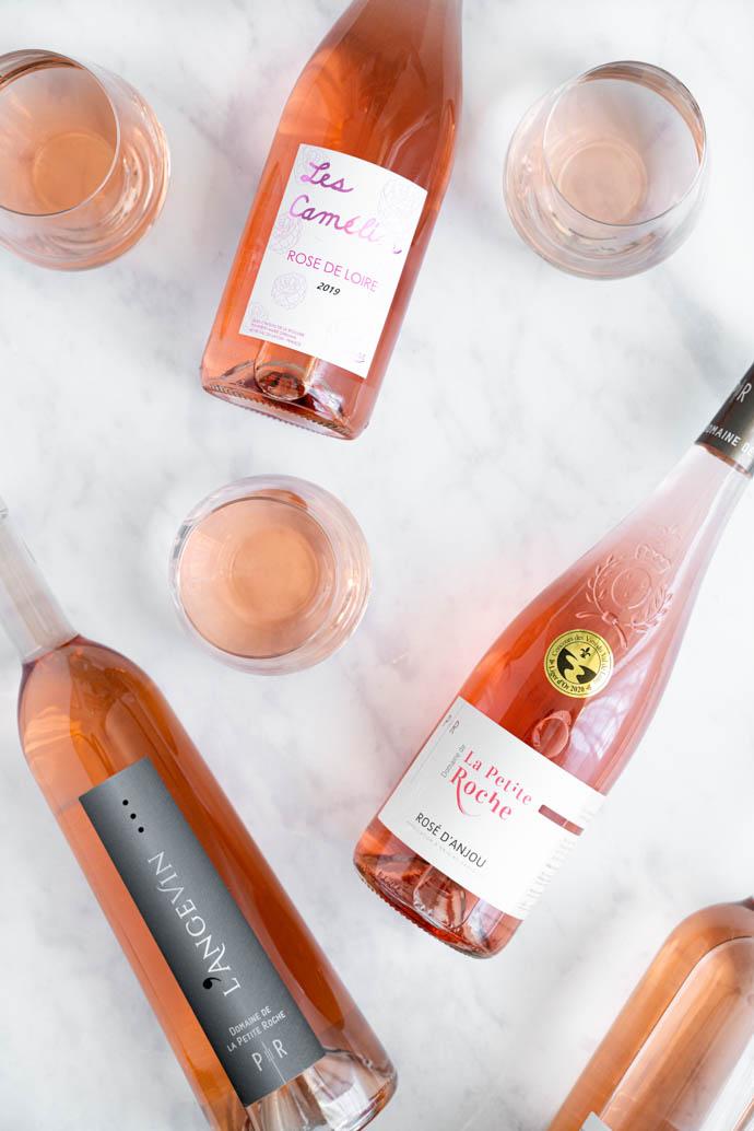Rosé de Loire, Cabernet d'Anjou, Rosé d'Anjou  - Tout savoir sur les 3 AOC Rosé du Val de Loire