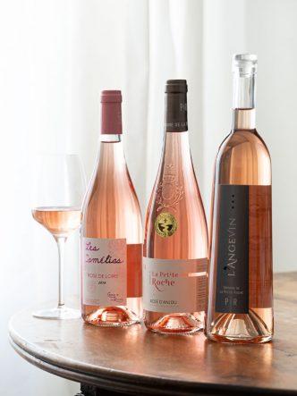Sélection de rosés d'été - Vins d'Anjou