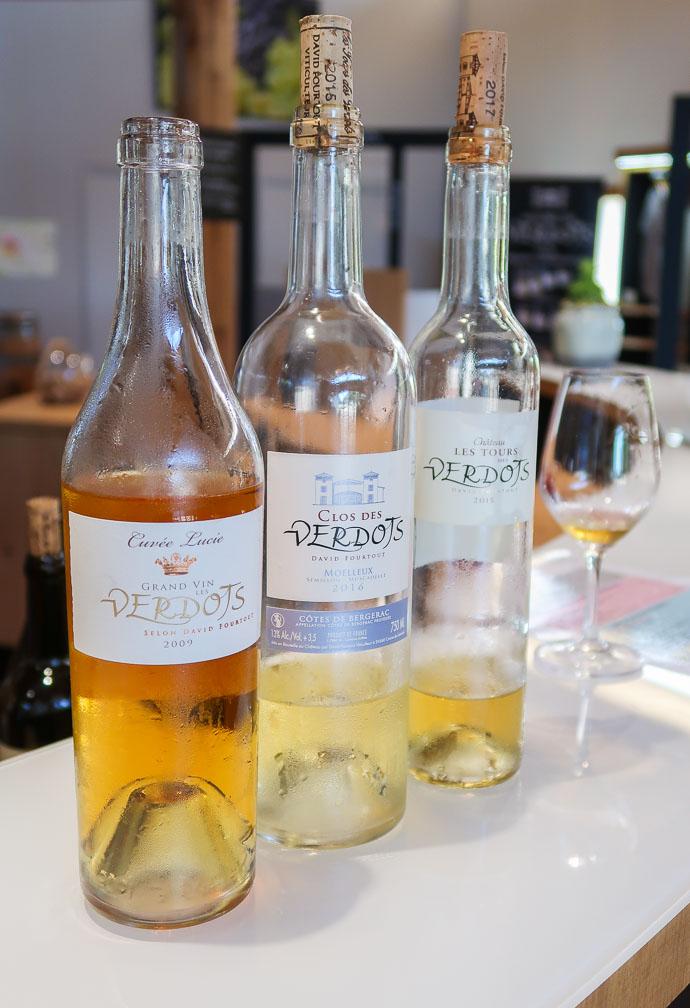 """La Cuvée Lucie """"Grand Vin"""" selon David Fourtout 2009, Domaine des Verdots (AOC Monbazillac)"""