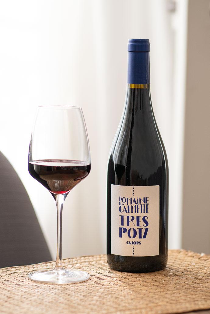 Domaine de la Calmette - AOC Cahors - 90% Malbec, 10% Merlot - vin rouge