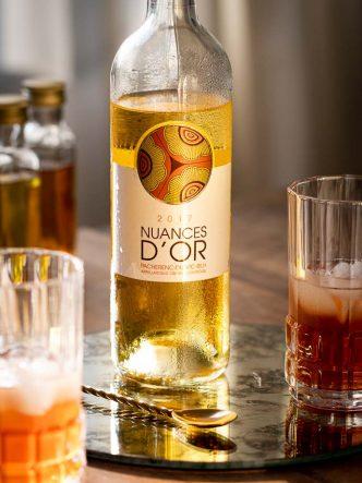 Cocktail au Vin Blanc Pacherenc Du Vic-Bilh - Le Golden State