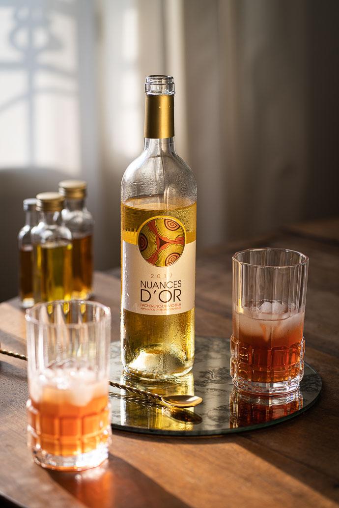 Cocktail au Vin Blanc Pacherenc Du Vic-Bilh - Le Golden State par Plaimont Vignerons - Vins du Sud-Ouest