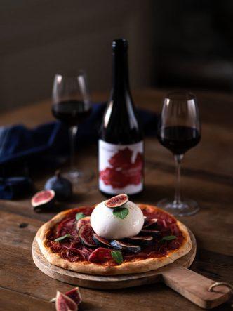 Pizza aux figues - recette italienne