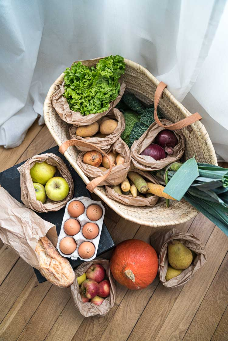 Commander ses légumes locaux en ligne, c'est possible avec à l'ancienne !