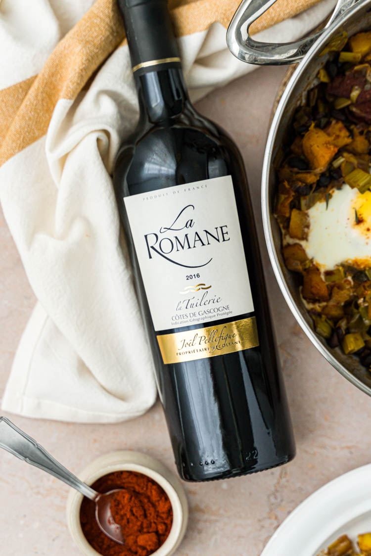 Vin rouge la Romane 2016 - Domaine la Tuilerie - IGP Côtes de Gascogne