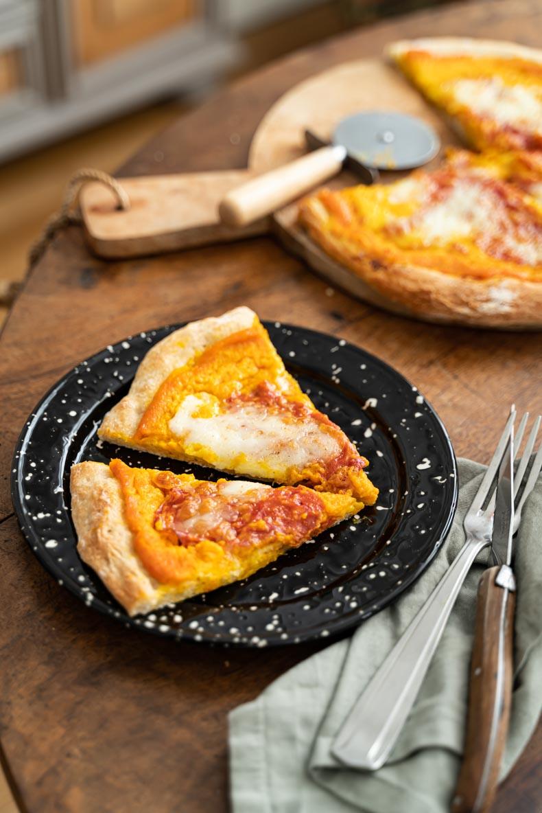 Faire sa pizza maison à la courge butternut