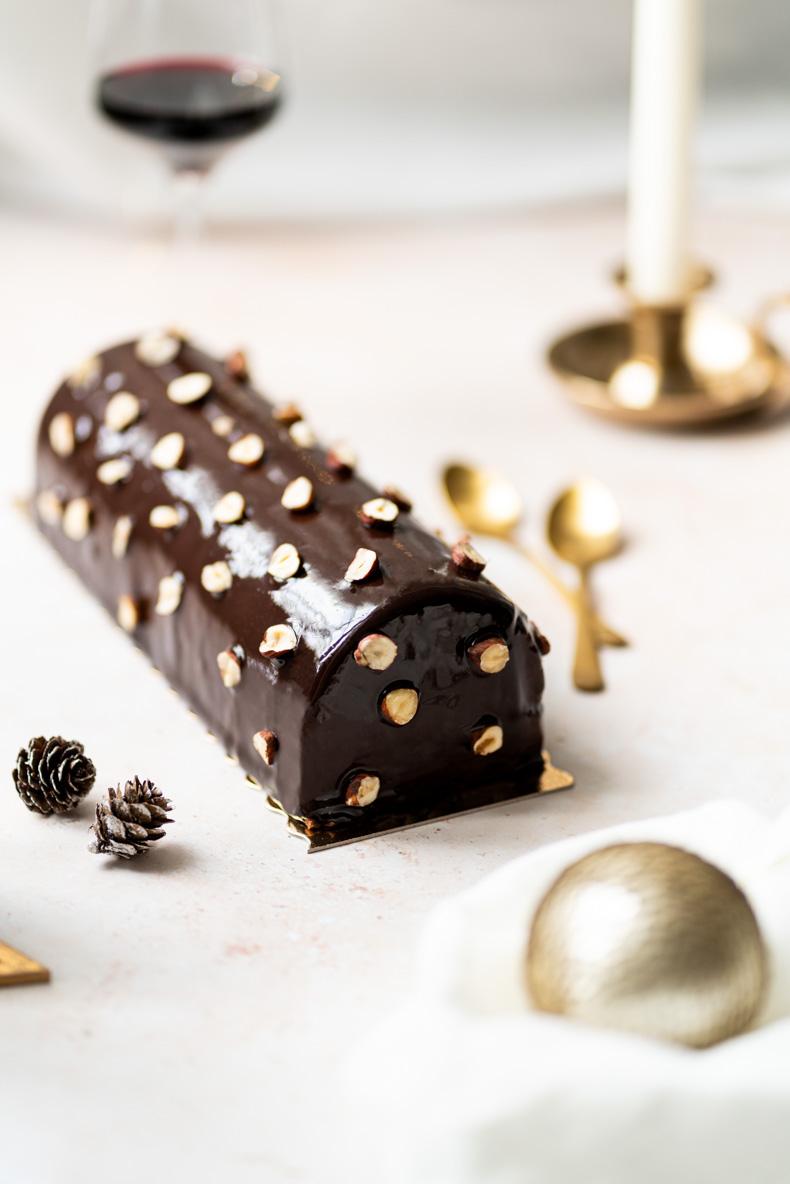 Préparer sa bûche de Noël sans lactose - conseils & astuces
