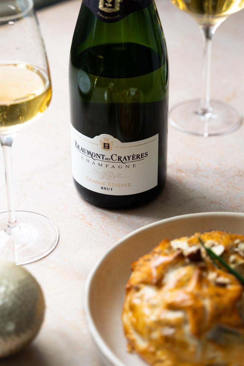 """Champagne """"Grande Reserve"""" Domaine Beaumont des Crayères - 60% Meunier, 25% Chardonnay, 15% Pinot Noir"""