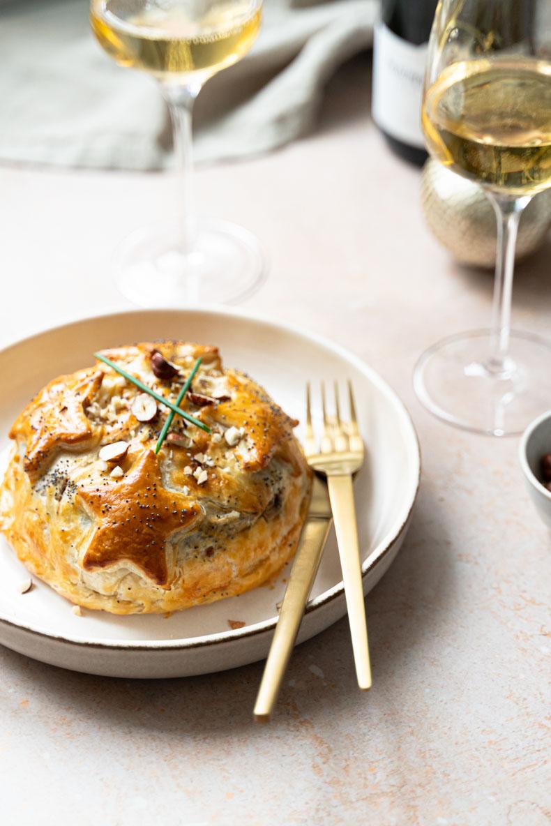 Camembert feuilleté au chutney de coings maison - recette facile