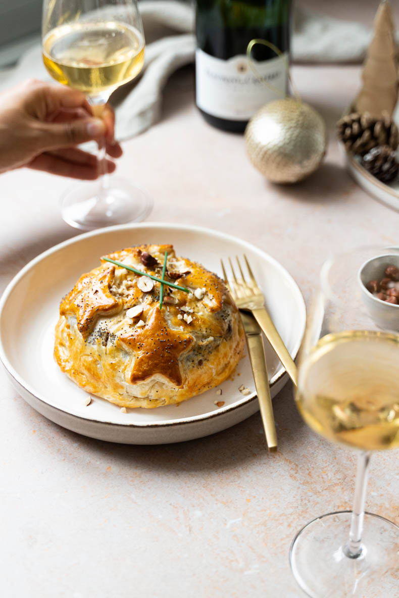 Camembert feuilleté au chutney de coings maison - recette facile pour Noël