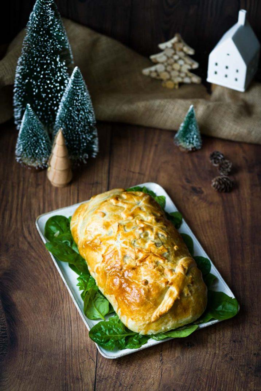Koulibiac de saumon - recette festive de Noël