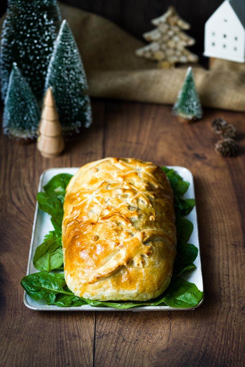 Koulibiac de saumon facile pour les fêtes