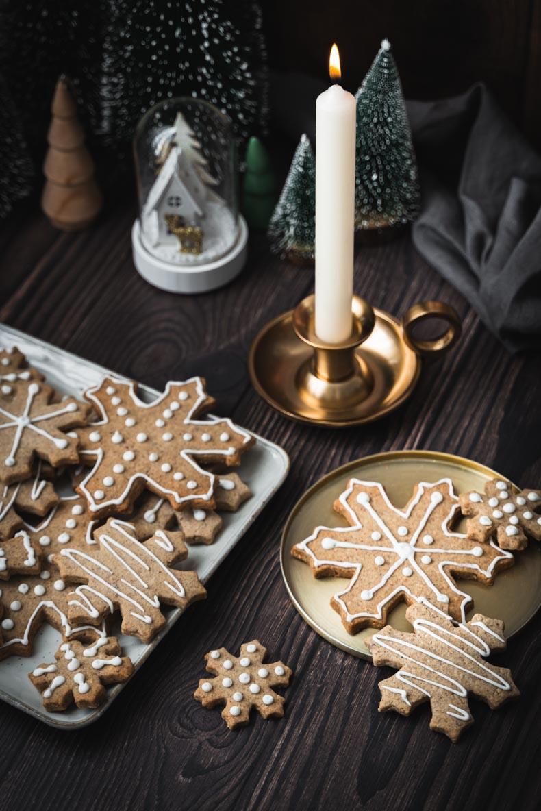 Faire des Sablés de Noël à la noisette et sarrasin