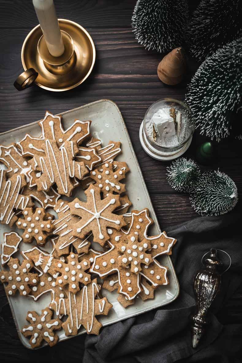 Sablés de Noël à la noisette et sarrasin