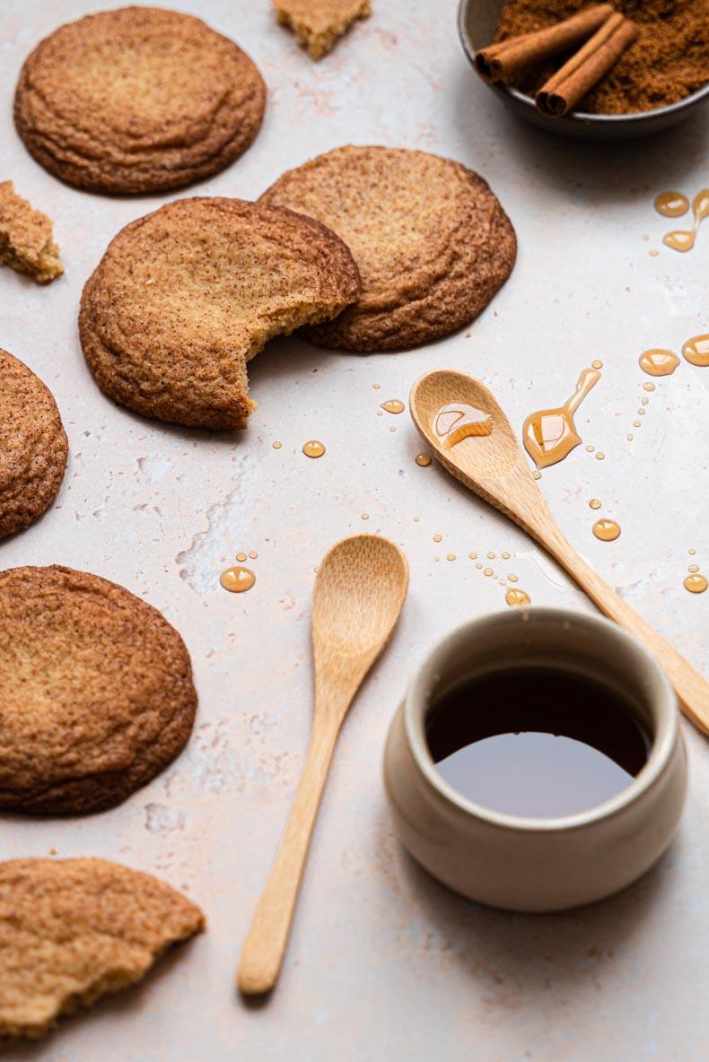 Biscuits au sirop d'érable - recette sans lactose