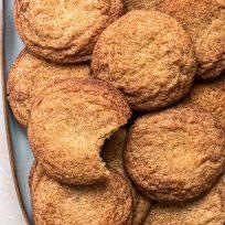 Recette facile de snickerdoodles, sans crème de tartre - recette inratable & sans lactose