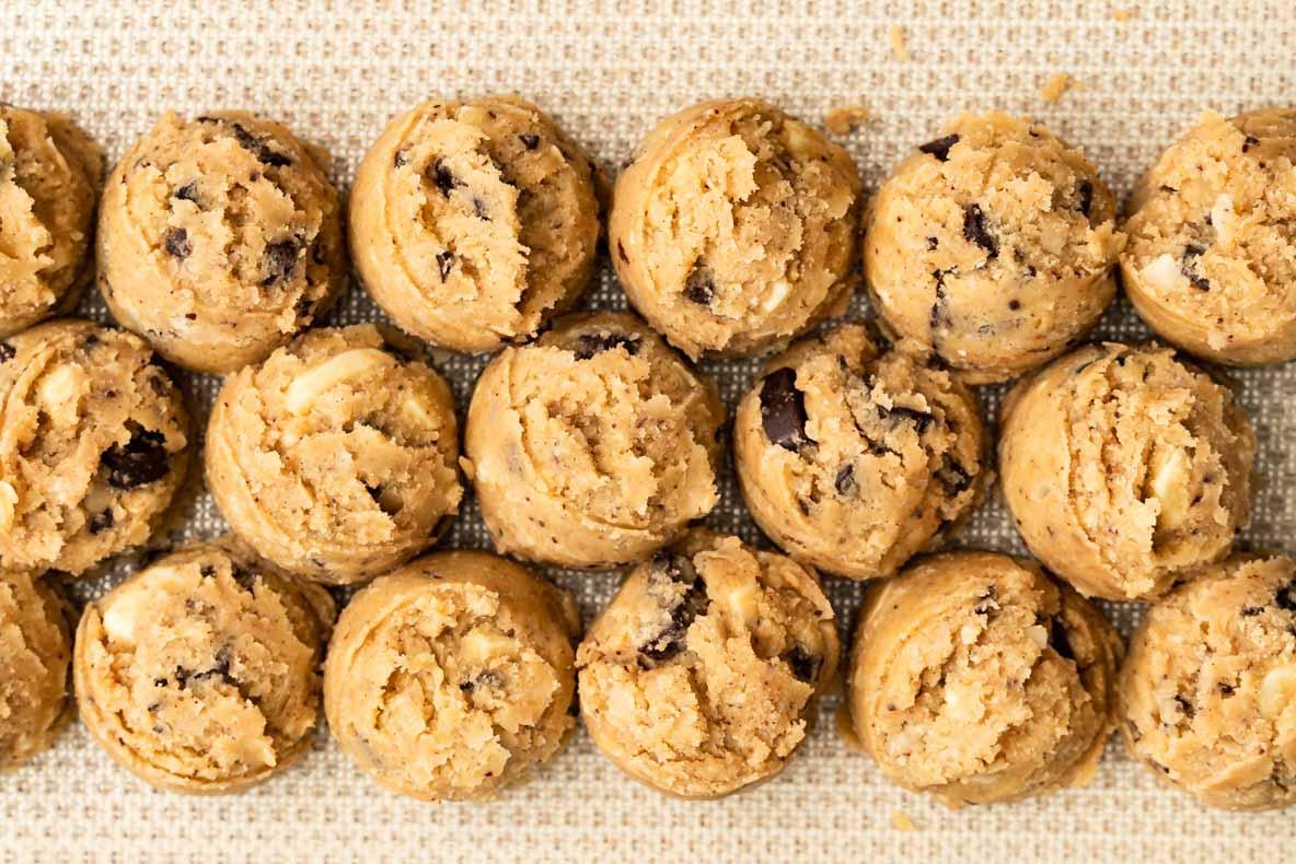 Cookies sans lactose - chocolat blanc & noir
