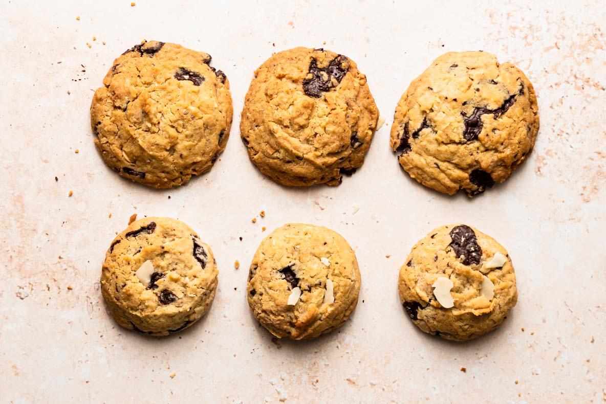 2 cuissons différentes pour la même recette de cookies - découvrez mes astuces pour les réussir à chaque fois