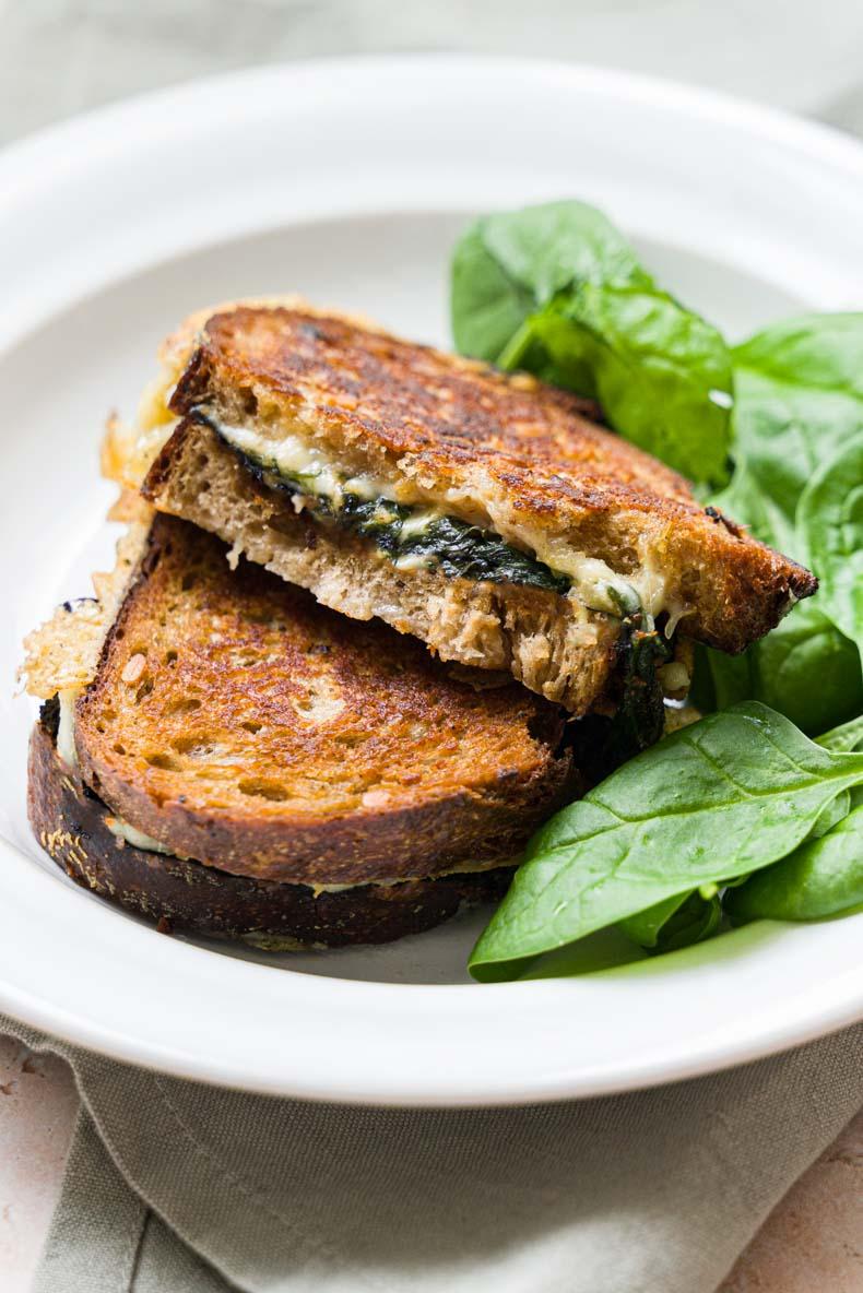 Grilled cheese au Mont des Cats - recette de sandwich au fromage