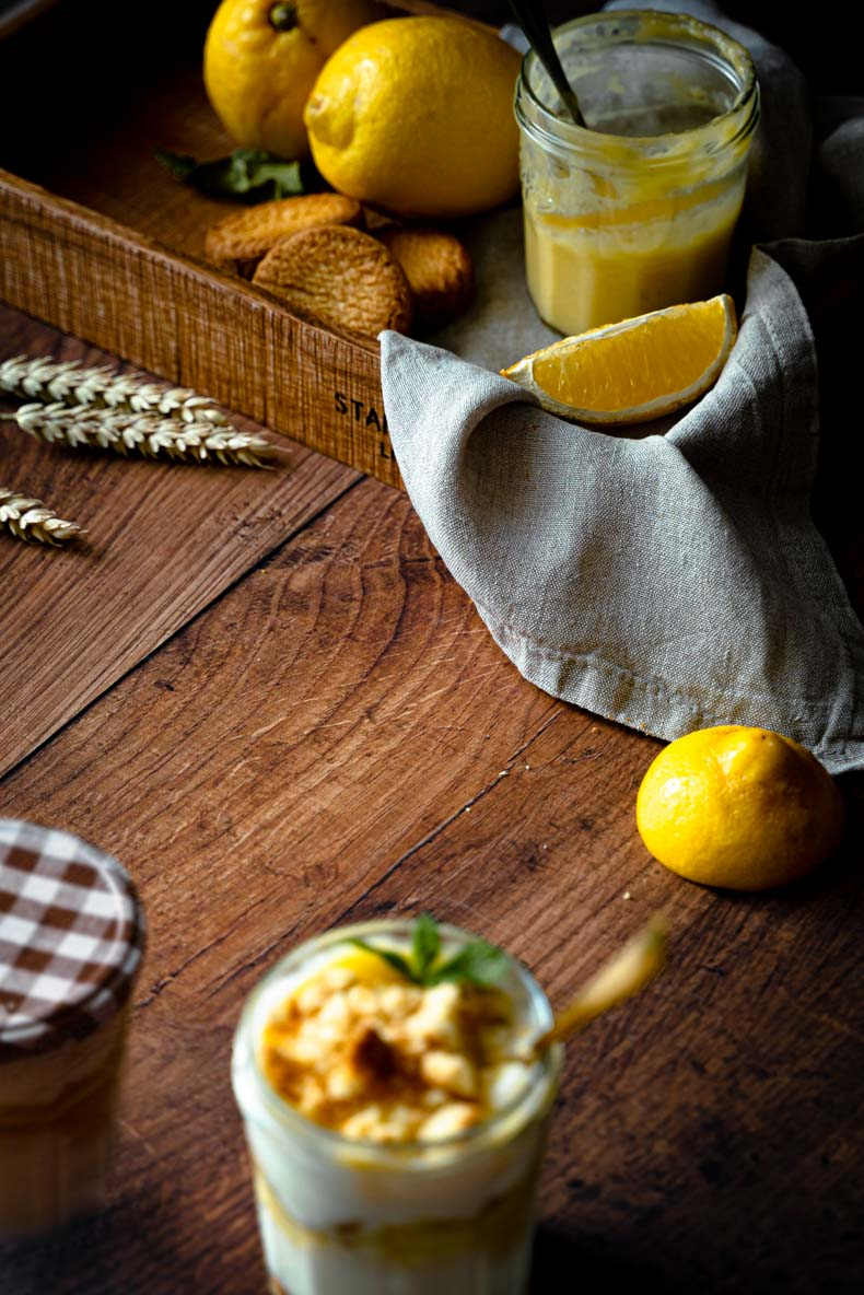 Parfait au citron - dessert aux fruits parfait pour l'été