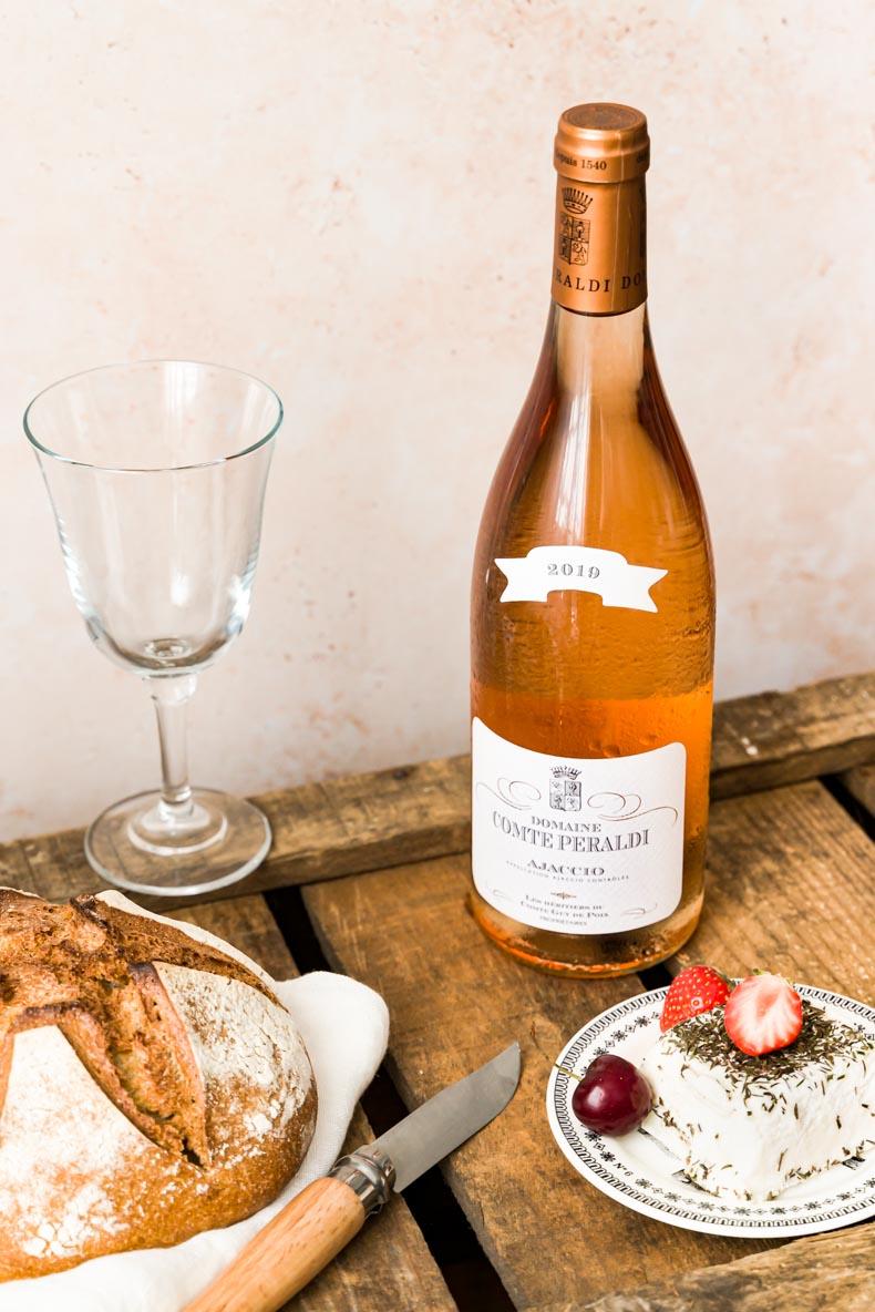 Comte Peraldi, Vin rosé de Corse
