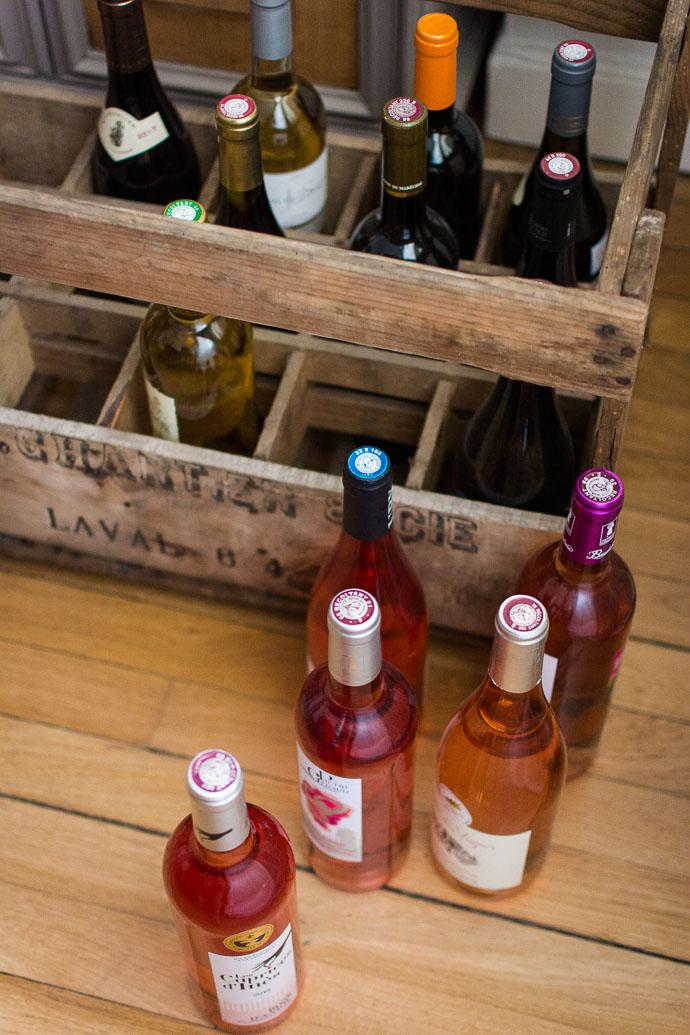 Accords mets & vins - rosé